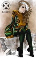 X-Men OneShot Rogue by geminisoku