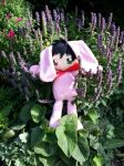 Mori Bunny Plushie by Calzones-Plushies