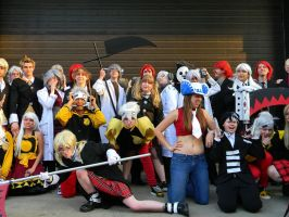 Soul Eater Group 2 - ACen 2013 by EndOfGreatness