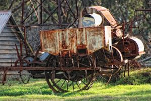 Exford Homestead, machinery by Captainttroy