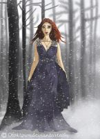 Sansa Stark - Game of Thrones by Gwennys