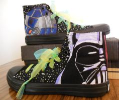 Star Wars Custom Chucks by Nelshami