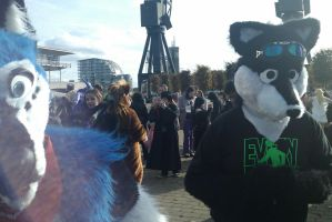 :MCM Oct 11: Furry Action by TheLupineOne