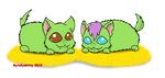 Contest Entry: Hay Pile Critters by Mytokyokitty