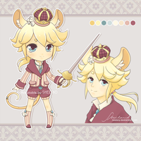 [CLOSED] Adoptable_03- Rapier Prince by Nestery