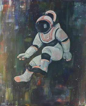Agravic (Astronaut Series) by OHANGEE