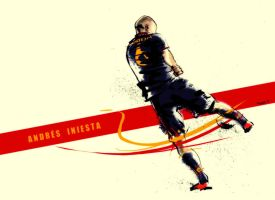 Thanks Iniesta by Yaguete