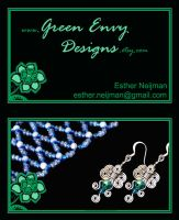 Business Card by green-envy-designs