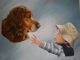 Sandy and Jamie by petportraitman