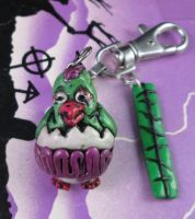 ZOMBIE EASTER CHICKEN by TocsinDesigns