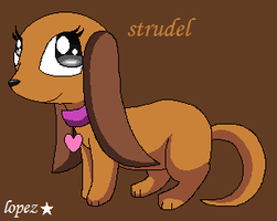 Pound Puppies- Strudel by lopez765