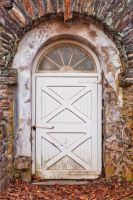 Rustic Arch Door by somadjinn