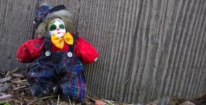 clown doll stock by porch 2 by porchstock