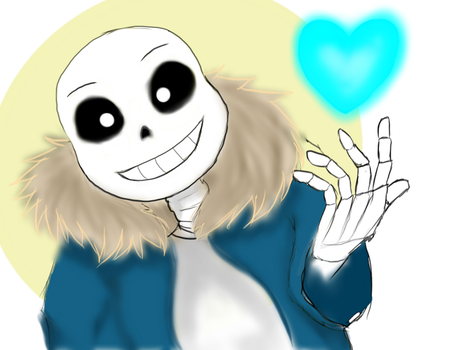 SANS (UNDERTALE) by beatrizsanchez