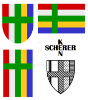 KenSchererShieldandFlag by KenScherer
