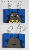 Totoro earrings set 2 by SamanthaBossy