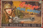 Propaganda Pinups - AVENGE Pearl Harbor by warbirdphotographer
