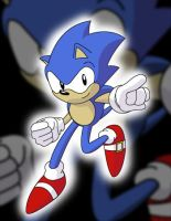 Sonic OVA Style by TheWax