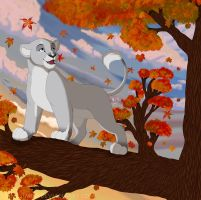 Leaves Are Falling by KingSimba
