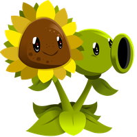 =Sun Pea= by 0ColorPaint0