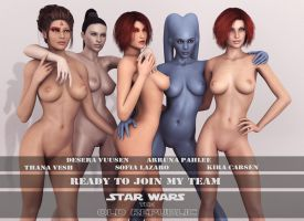 Ready to join my team by Mickytroisd