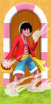 Monkey D. Luffy by Endial64