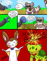 PMD Mission 1: Page 4 by Kitsumon