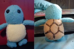Squirtle Plush by Winstopian