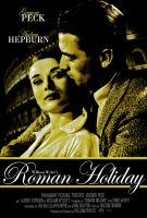 Roman Holiday Poster by Ficklestix