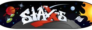 Staxxs Skateboard Space by WarBrown