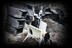 Strength 9 - Black rock shooter by psycomeh
