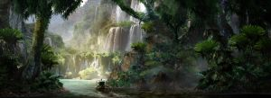 Jungle River by Fish032