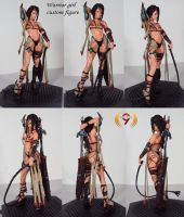 Sexy Warrior Girl custom by Unicron9