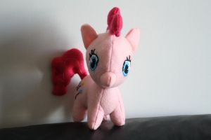 Pinkie Pie Plushie: front view by LovelyLittleLemon