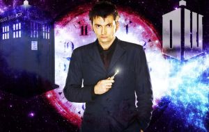 Doctor Who - Tenth Doctor - David Tennant by Skrillexia-TF
