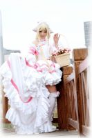 Chobits: Balcony by moonru