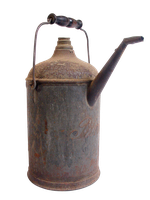 Old oil can transparent png by AbsurdWordPreferred
