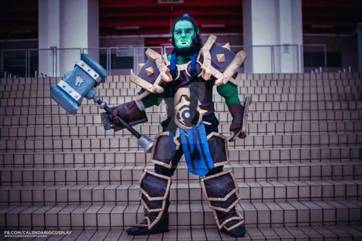 Thrall Warchief Cosplay - Heroes of the Storm by TheDarkFire
