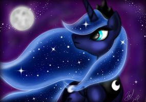 Princess Luna by Vet2B