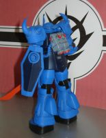 MS-07B Gouf Harm Custom - Back by dog42a