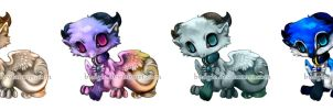 SA: Mini Sky Dragons by sambees