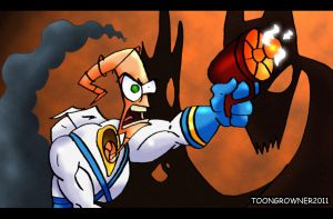 Earthworm Jim by toongrowner