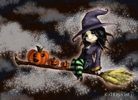 Halloween Witch by Katoons88
