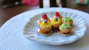 Miniature fruit tarts 2 by AGTCT
