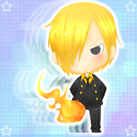 Chibi Sanji - 2Y Later by xDoodleZx