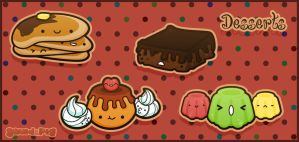Desserts by SquidPig
