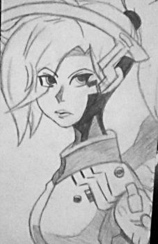 Mercy Sketch by SketchPD