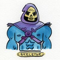 Villain Month - 02 Skeletor by TRAVALE