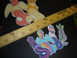 MLP Stickers by RenaInnocenti