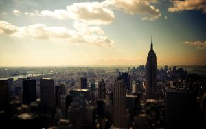 New York Wallpaper - PLAIN by JamesDeanee